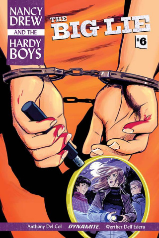 Nancy Drew and The Hardy Boys #6 (Bullock Cover)