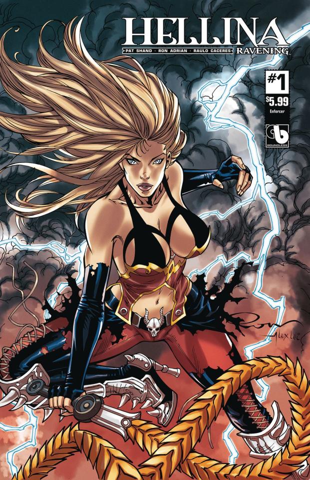 Hellina: Ravening #1 (Enforcer Cover)