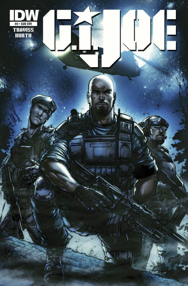 G.I. Joe #3 (Subscription Cover)
