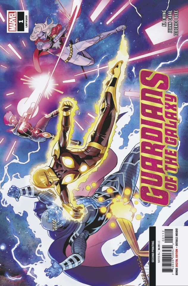 Guardians of the Galaxy #1 (2nd Printing)