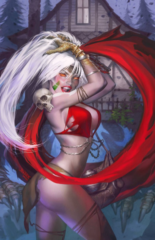 Grimm Fairy Tales #42 (Burns Cover)
