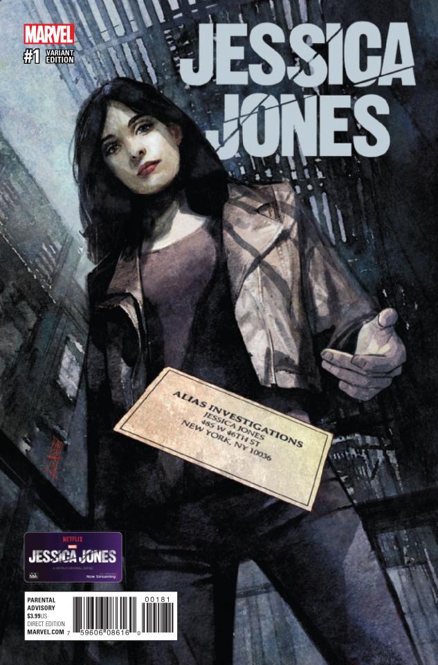 Jessica Jones #1 (Maleev Cover)