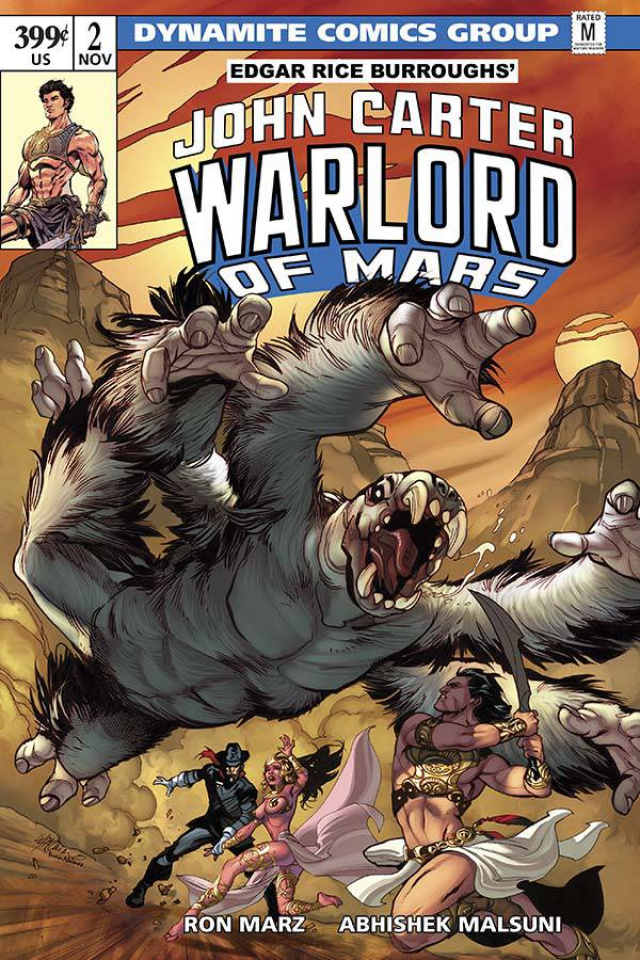 John Carter: Warlord of Mars #2 (Lupacchino Cover)