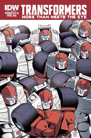 The Transformers: More Than Meets the Eye #43 (Subscription Cover)