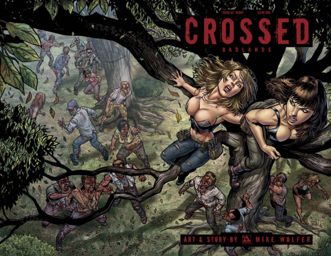 Crossed: Badlands #83 (Wrap Cover)