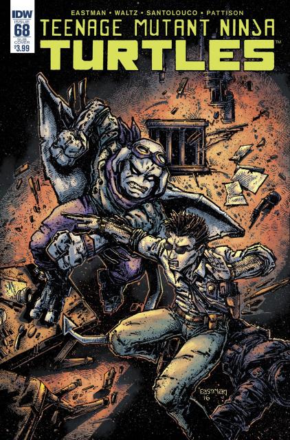 Teenage Mutant Ninja Turtles #68 (Subscription Cover)