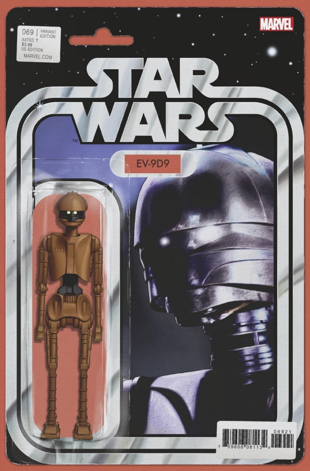 Star Wars #69 (Christopher Action Figure Cover)