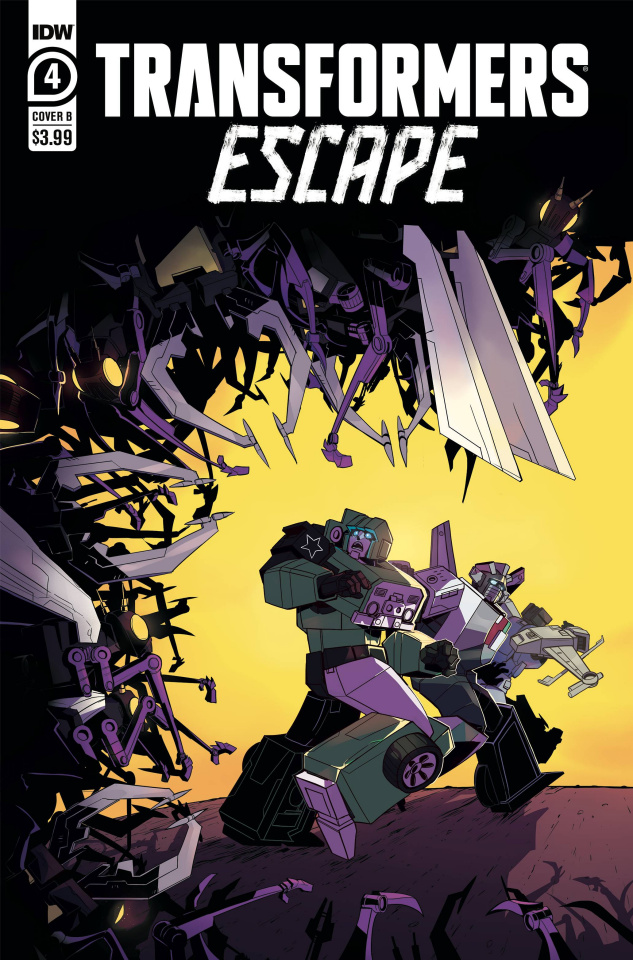 Transformers: Escape #4 (Herzplatter Cover)