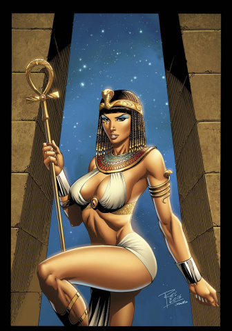 Grimm Fairy Tales: Van Helsing vs. The Mummy of Amun Ra #1 (Rei Cover)
