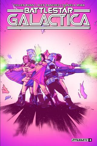 Battlestar Galactica #4 (Sanchez Cover)