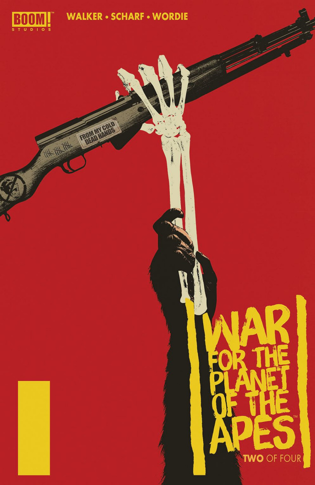 War for the Planet of the Apes #2 (Subscription Shaw Cover)