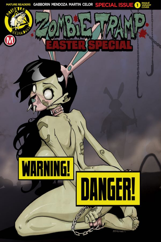Zombie Tramp 2017 Easter Special (Mendoza Risque Cover)