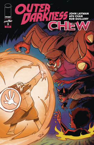 Outer Darkness / Chew #3 (Guillory Cover)