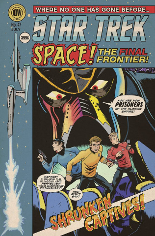 Star Trek #47 (EC Subscription Cover)