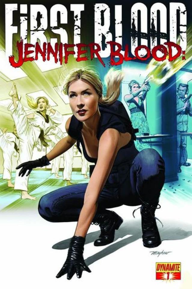 Jennifer Blood: First Blood #1