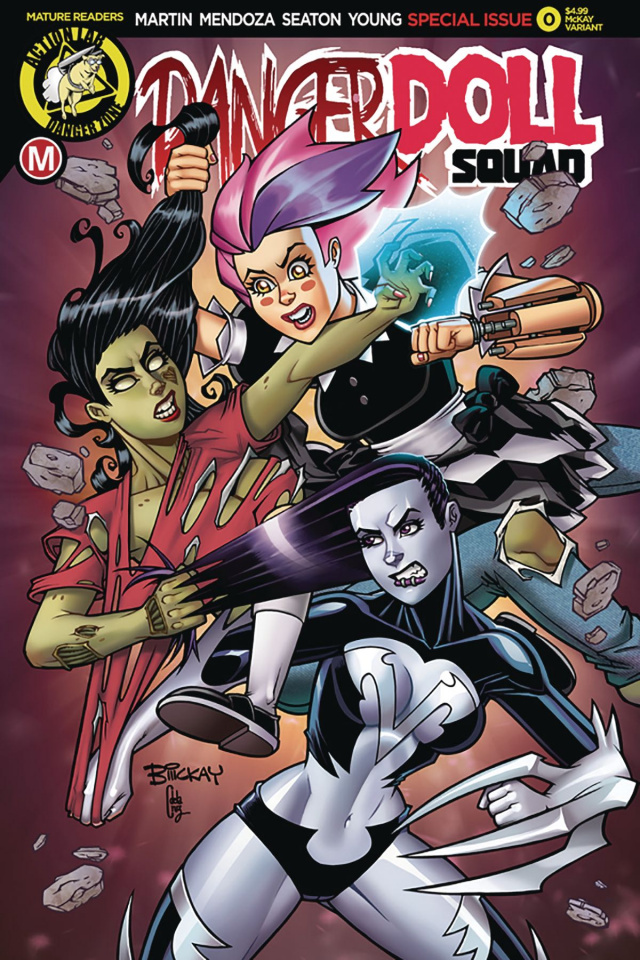 Danger Doll Squad #0 (McKay Cover)