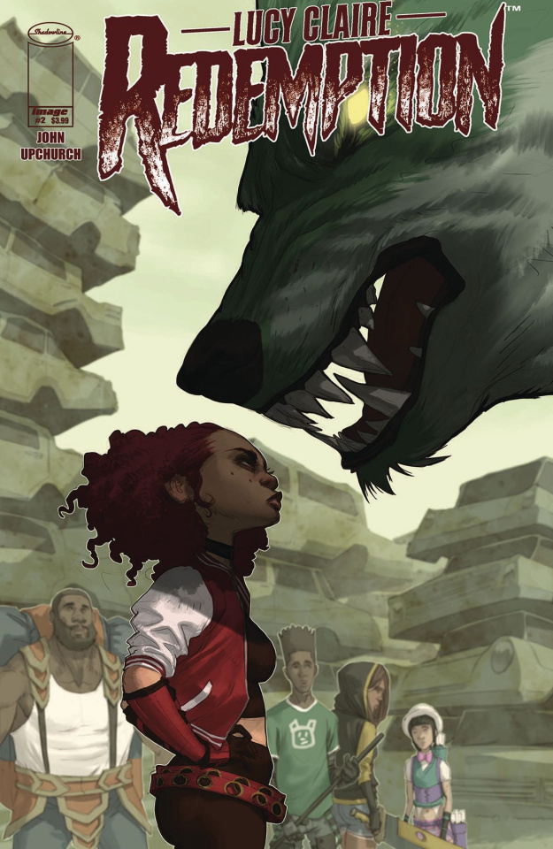 Lucy Claire: Redemption #2 (Upchurch Cover)