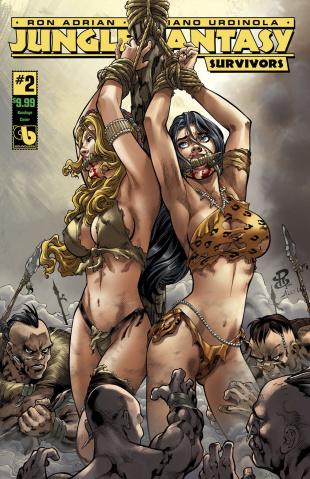 Jungle Fantasy: Survivors #2 (Bondage Cover)