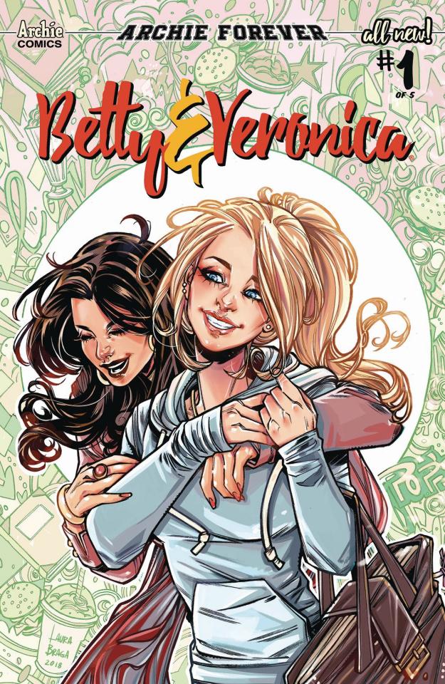 Betty & Veronica #1 (Braga Cover)