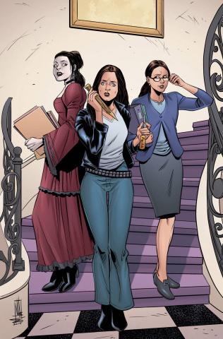 Angel and Faith, Season 10 #18 (Norton & Englert Cover)
