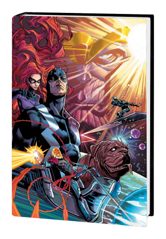 Marvel Cosmic Universe by Cates Vol. 1 (Omnibus)