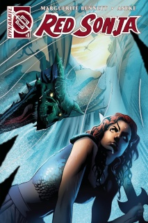 Red Sonja #1 (AoD Collectibles Calero Cover)