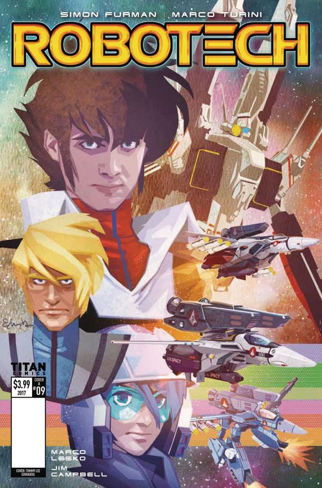 Robotech #9 (Edwards Cover)