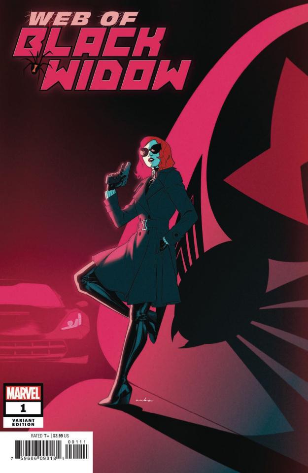Web of Black Widow #1 (Anka Cover)