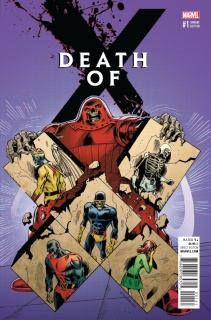 Death of X #1 (Classic Var Cover)