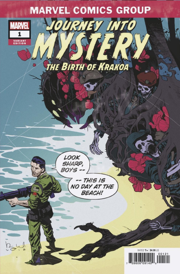 Journey Into Mystery: The Birth of Krakoa #1 (Caldwell Cover)