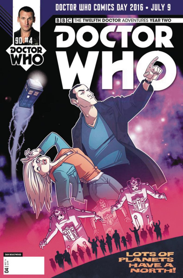 Doctor Who: New Adventures with the Ninth Doctor #4 (Doctor Who Day Cover)