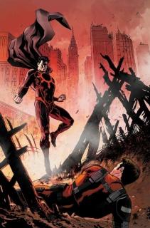 E.V.I.L. Heroes #5 (Kivela Cover)