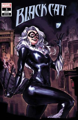 Black Cat #3 (Zitro Cover)