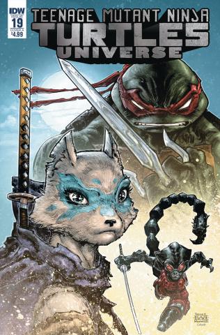 Teenage Mutant Ninja Turtles Universe #19 (Williams II Cover)