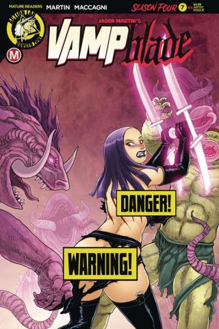 Vampblade, Season Four #7 (Espinosa Risque Cover)