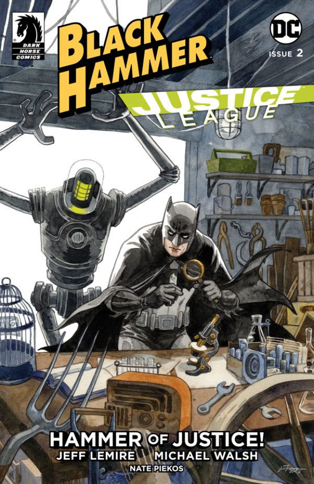 Black Hammer / Justice League #2 (Thompson Cover)