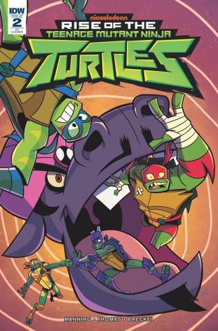 Rise of the Teenage Mutant Ninja Turtles #2 (10 Copy Sommariva Cover)