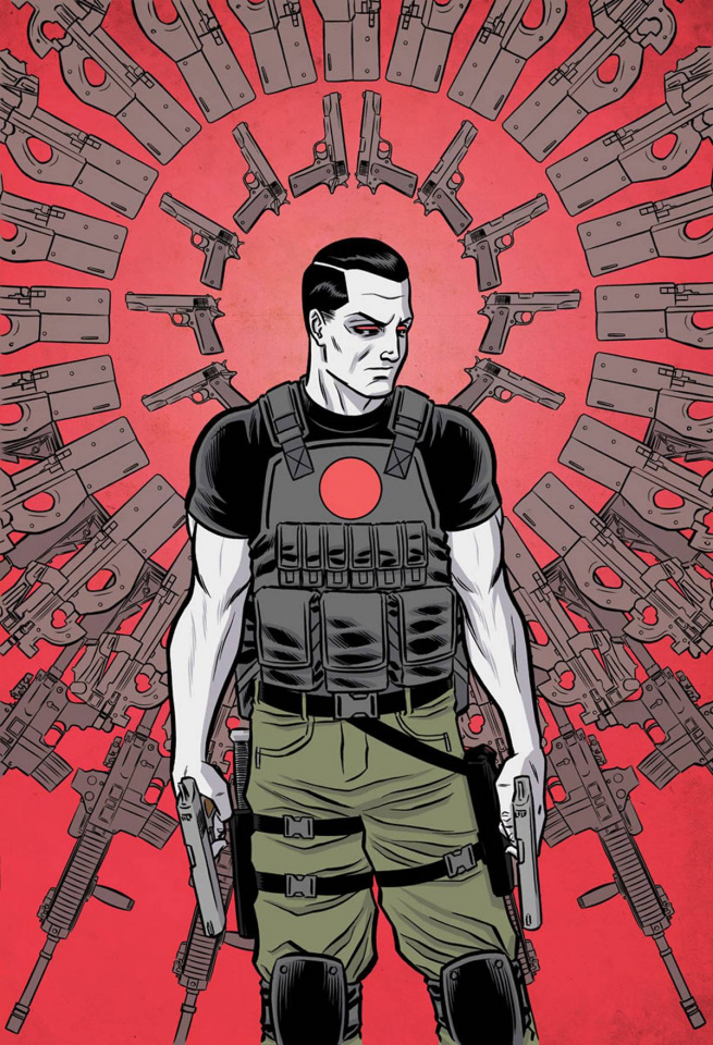 Bloodshot: Reborn Annual 2016 #1 (10 Copy Wilson IV Cover)