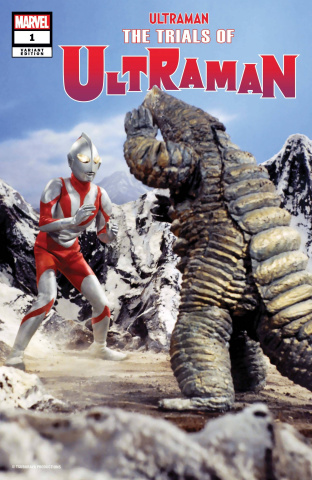 The Trials of Ultraman #1 (TV Cover)