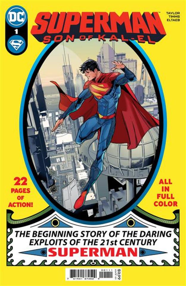 Superman: Son of Kal-El #1 (John Timms Cover)