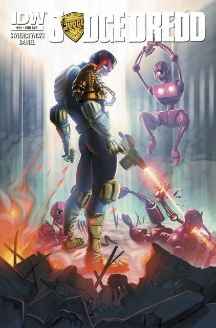 Judge Dredd #29 (Subscription Cover)