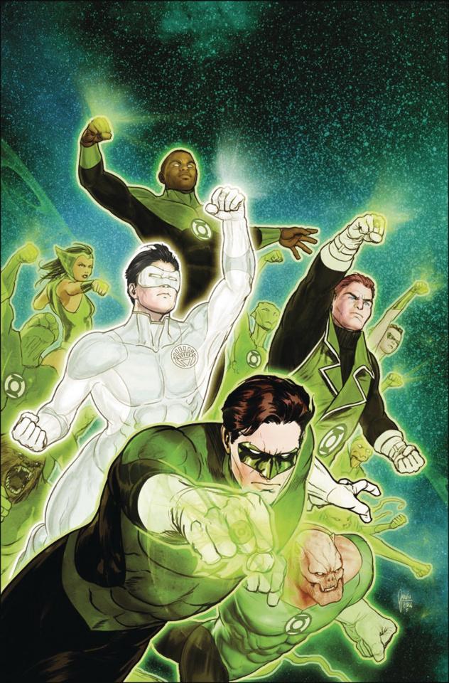 Hal Jordan and The Green Lantern Corps #13