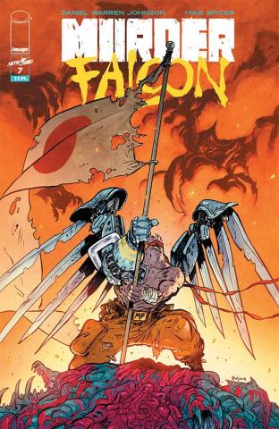 Murder Falcon #7 (Johnson & Spicer Cover)