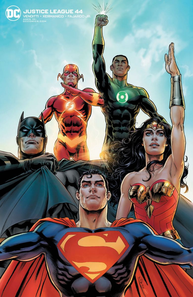 Justice League #44 (Variant Cover)