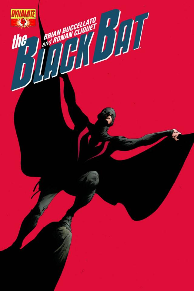 The Black Bat #4 (Lee Cover)