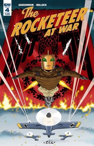 The Rocketeer At War #4