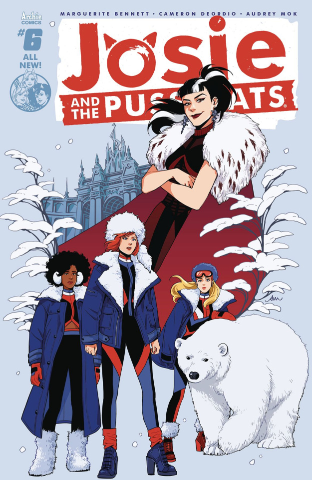 Josie and The Pussycats #6 (Audrey Mok Cover)