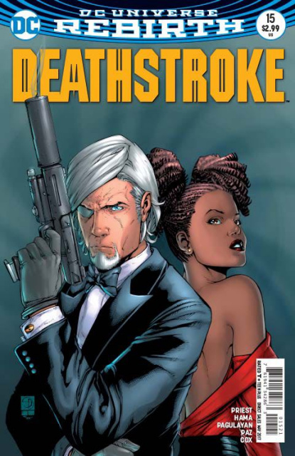 Deathstroke #15 (Variant Cover)