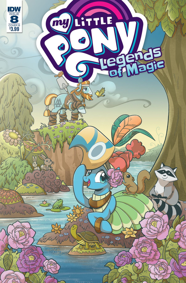 My Little Pony: Legends of Magic #8 (Hickey Cover)