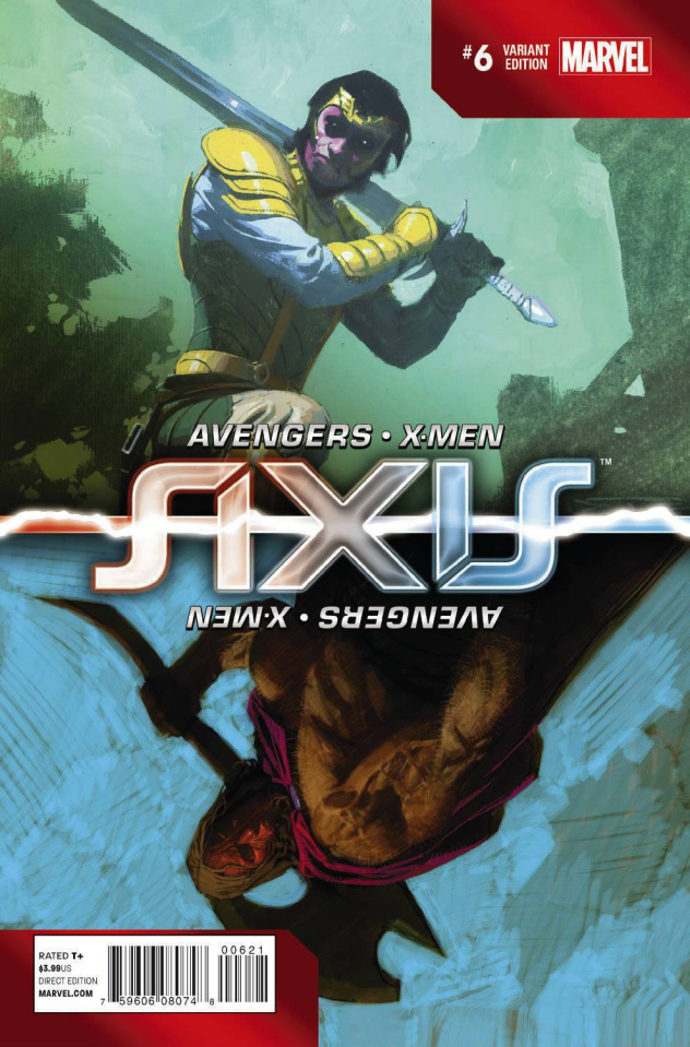 Avengers and X-Men: AXIS #6 (Inversion Ribic Cover)